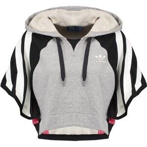 adidas Originals Sweat à capuche grey/black/pink