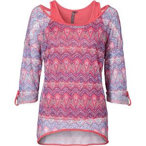 RAINBOW Shirt (2-tgl.) in pink für Damen von bonprix