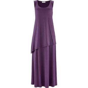 bpc bonprix collection Kleid ohne Ärmel figurumspielend in lila (Rundhals) von bonprix