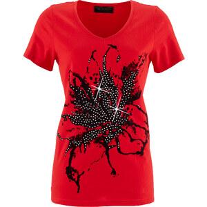 bpc selection Shirt Kurzarm in rot für Damen von bonprix