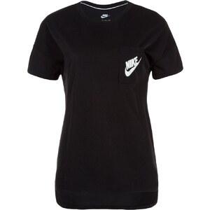 Nike Sportswear SIGNAL Tshirt imprimé black