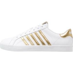 K-SWISS KSWISS BELMONT Baskets basses white/gold