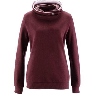 bpc bonprix collection Sweat-shirt rouge manches longues femme - bonprix