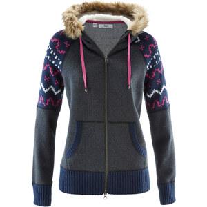 bpc bonprix collection Gilet sweat-shirt gris femme - bonprix