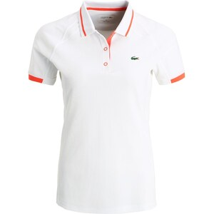 Lacoste Sport Polo white/mango tree red