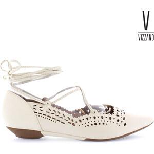 Ballerines à lacets Vizzano avec motif ajouré