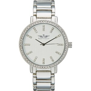Softech AISHA Montre silvercoloured