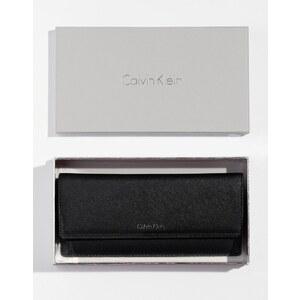 Calvin Klein - Grand portefeuille à trois volets - Noir