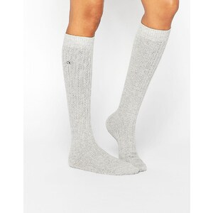 Calvin Klein - Holiday - Chaussettes pour bottes scintillantes - Gris