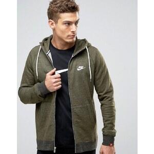 Nike - Legacy 805057-347 - Sweat à capuche à fermeture éclair - Vert - Vert