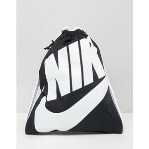 Nike - Heritage - Sac de gym - Noir