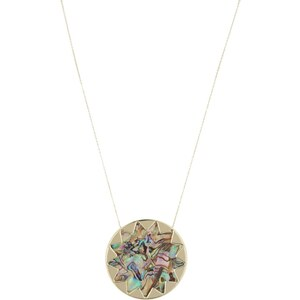House of Harlow SUNBURST Collier abalone shell