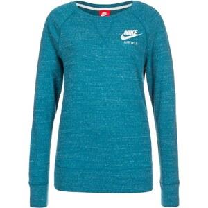 Nike Sportswear GYM VINTAGE Sweatshirt green abyss/sail