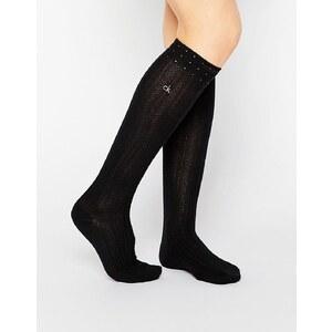 Calvin Klein - Holiday - Chaussettes pour bottes scintillantes - Noir