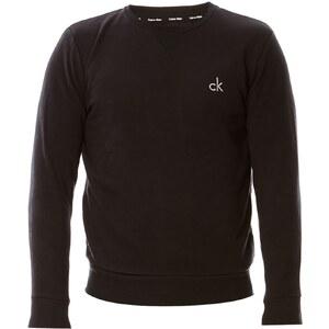 Calvin Klein Jeans Sweat-shirt en coton mélangé - noir