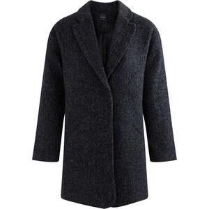Promod Manteau en laine mélangée - noir