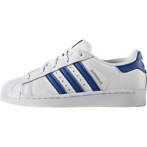 adidas Originals SUPERSTAR FOUNDATION Baskets basses white/blue
