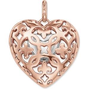 Thomas Sabo pendentif Cœur médaillon argenté PE641-415-12