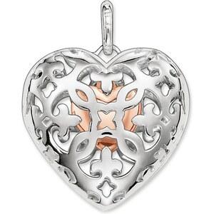 Thomas Sabo pendentif Cœur médaillon argenté PE639-415-12