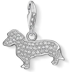 Thomas Sabo Charm Hund weiß 1098-051-14