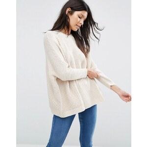 ASOS - Cape-Pullover - Cremeweiß
