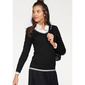 AJC V-Ausschnitt-Pullover aus weicher Strick Ware
