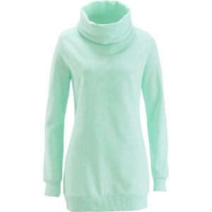 bpc bonprix collection Sweat-shirt long vert manches longues femme - bonprix