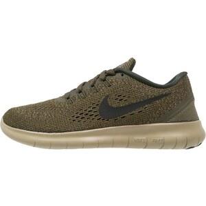 Nike Performance FREE RUN Chaussures de course neutres dark loden/black/neutral olive/sequoia/white