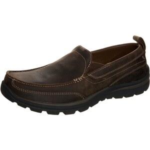 Skechers Mocassins dark brown
