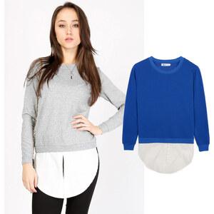 Lesara Sweatshirt 2 en 1 avec blouse