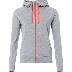 Only Play ONPARLETTE Sweat zippé light grey melange/hot pink