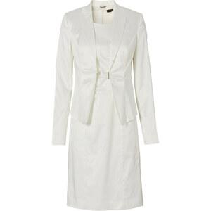 BODYFLIRT Kostüm aus Blazer + Kleid (2-tlg. Set) in weiß für Damen von bonprix