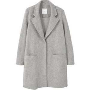 Mango Manteau classique medium heather grey