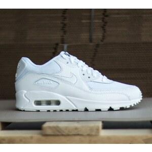 Nike Air Max 90 Mesh (GS) White/White-Cool Grey