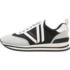 Calvin Klein Jeans TIYA Baskets basses black/pearl grey