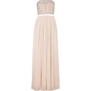 Young Couture Abendkleid mit Zierperlen und Pailletten