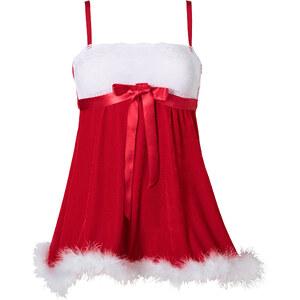 Nuisette de Noël rouge lingerie - bonprix