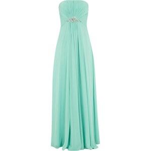 Luxuar Empire Abendkleid mit Ziersteinbesatz