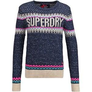 Superdry MORZINE Pullover navy