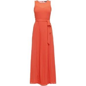 Wallis Robe longue orange