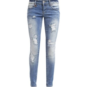ONLY ONLCORAL Jean slim light blue denim