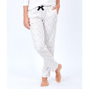 Pantalon imprimé, détails glitter Etam