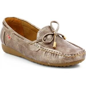 "I""m Chaussures Mocassins noeud marron"