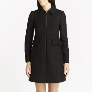 Kookai Duffle-coat en laine mélangée - noir