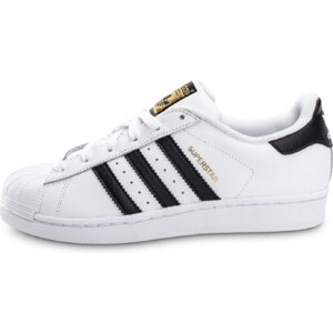 adidas Tennis Superstar Foundation Junior Blanc Noir Femme
