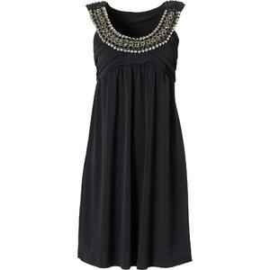 BODYFLIRT Shirtkleid ohne Ärmel in schwarz (Rundhals) von bonprix