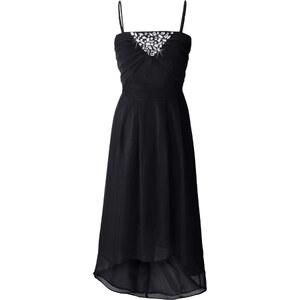 BODYFLIRT Abendkleid ohne Ärmel in schwarz von bonprix