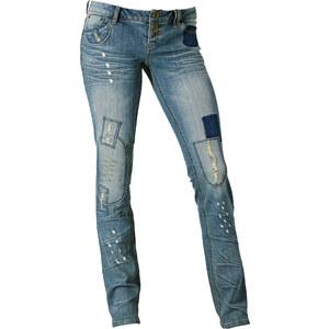 RAINBOW Skinny-Jeans in blau für Damen von bonprix