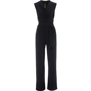 BODYFLIRT boutique Overall ohne Ärmel in schwarz (V-Ausschnitt) von bonprix