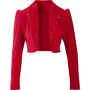 BODYFLIRT Bolero langarm in rot für Damen von bonprix